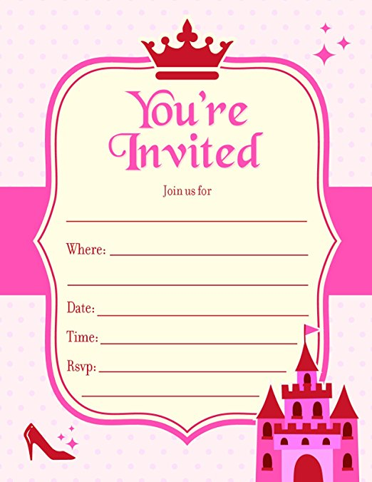 princessinvitation
